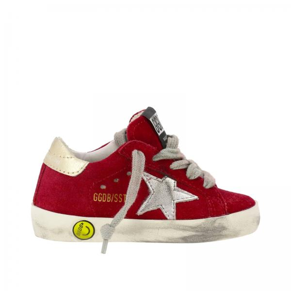 Superstar Golden Goose sneakers in suede with laminated star