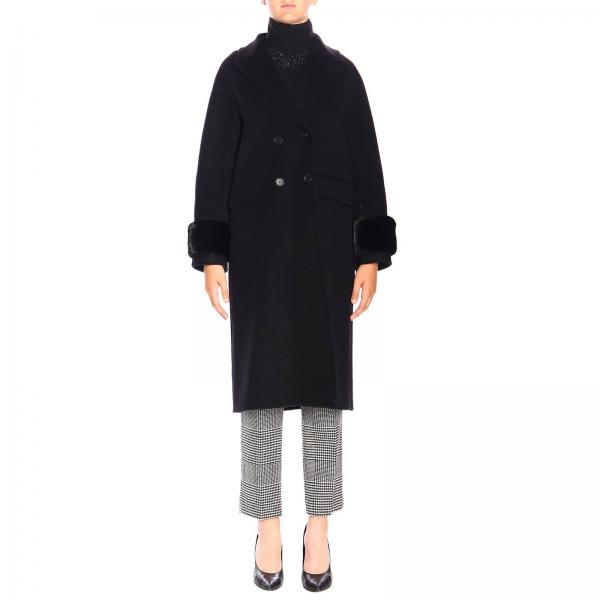 outlet store 90447 982fe Women's Coat Ermanno Scervino