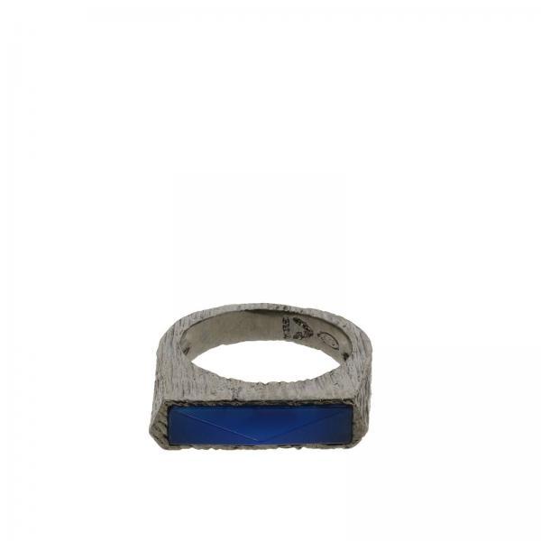 Anello Rockyourmind con agata blu