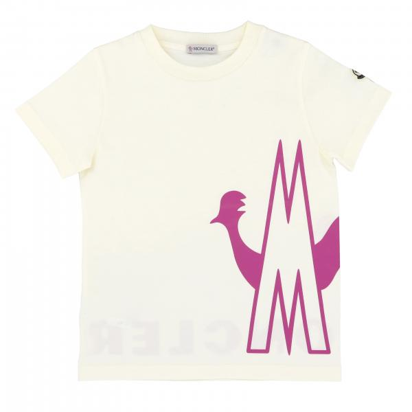 T-shirt a girocollo con big logo M by Moncler