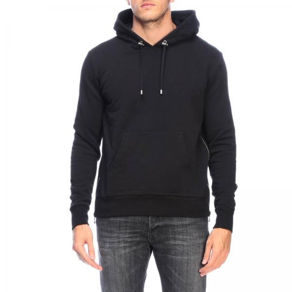 Balmain jumper with hood and back logo