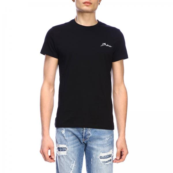 Balmain short-sleeved T-shirt with signature