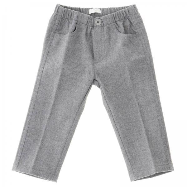 Pantalone Il Gufo classic in lana a 5 tasche