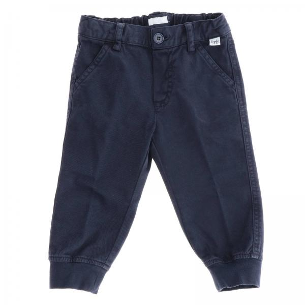 Pantalone Il Gufo in cotone con tasche america