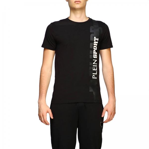 Plein Sport logo印花圆领T恤