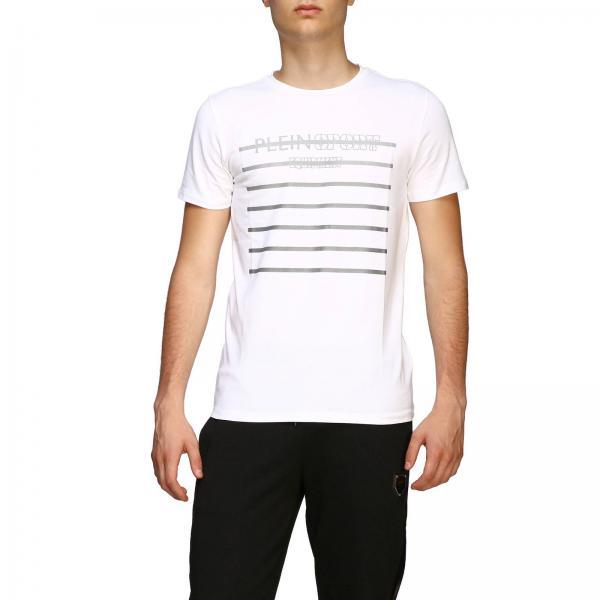 T-shirt Plein Sport a girocollo con logo