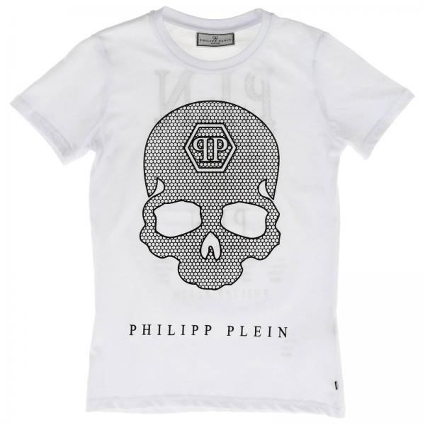 Philipp Plein 骷髅装饰圆领T恤