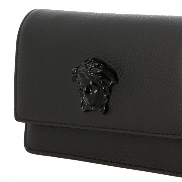 Mini Dvtgh Borsa Con Donna Versace In Medusa NeroPalazzo Martellata Di Testa Dp8e906 A Tracolla Pelle sCdxhQtr