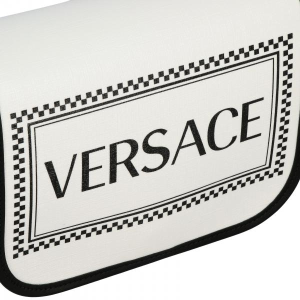 Borse VersaceBorsa Pelle Con A Stampa Donna In 90s Tracolla Vintage Dtlsv Logo Dbfh031l NnOZ0kXP8w