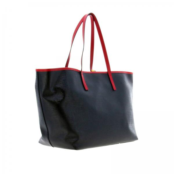 In Vintage Dtlsv Donna Con Dbfh035l 90s Pelle VersaceShopping Logo Stampa A Borsa Spalla hdsQrCt