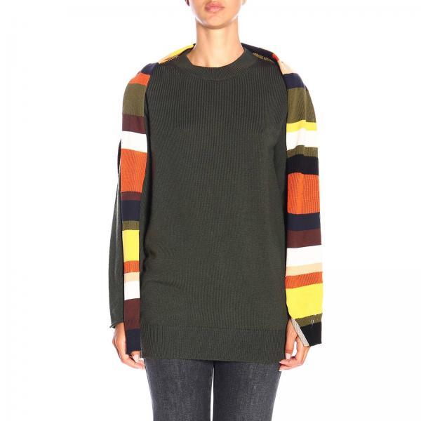 Maglia Sonia Rykiel in lana con finta maglia a righe