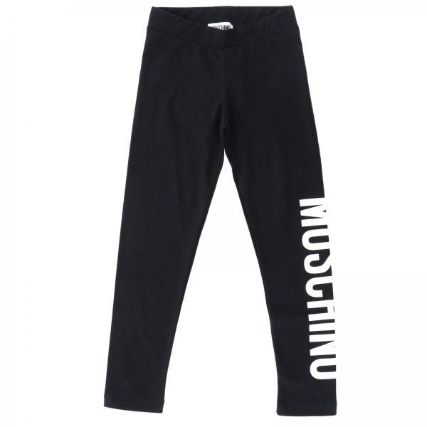 Pantalons jogging Moschino Kid avec logo imprimé