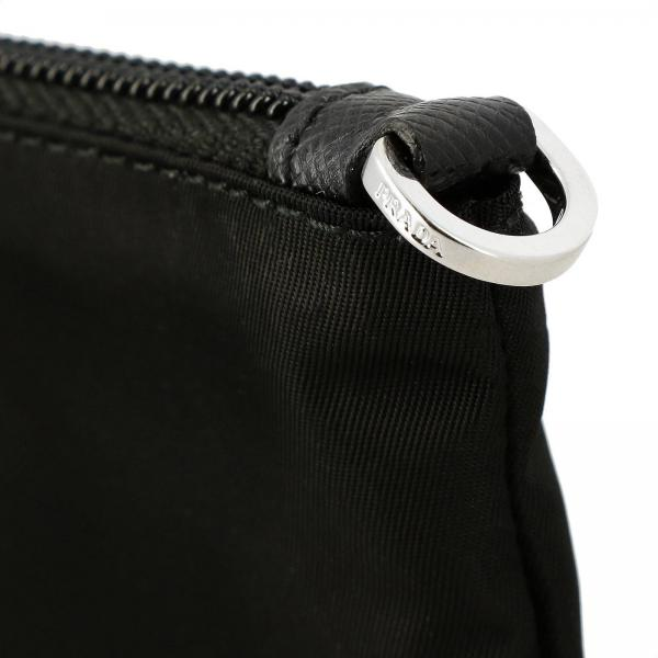NeroBeauty Logo Con Triangolare A Donna Nylon 1nh545 Case Pochette Borsa 067 Prada Mini In w80PyvNnOm