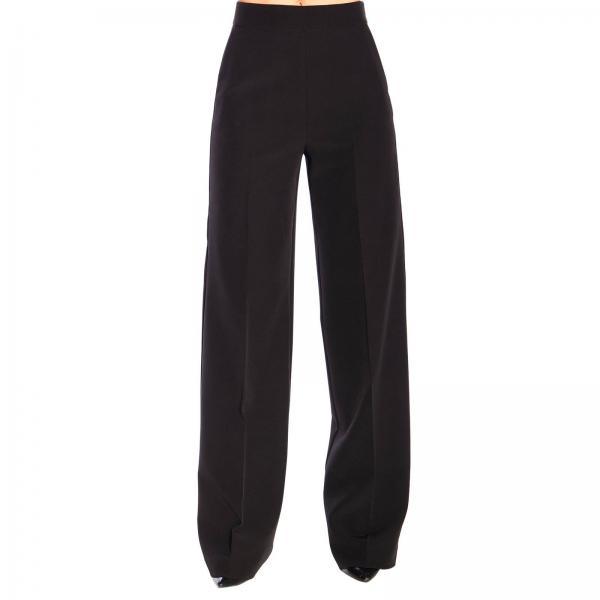 Pantalone Blumarine ampio in cady tecnico stretch