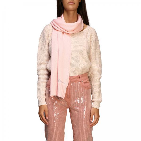 Sciarpa Be Blumarine in lana con logo di strass