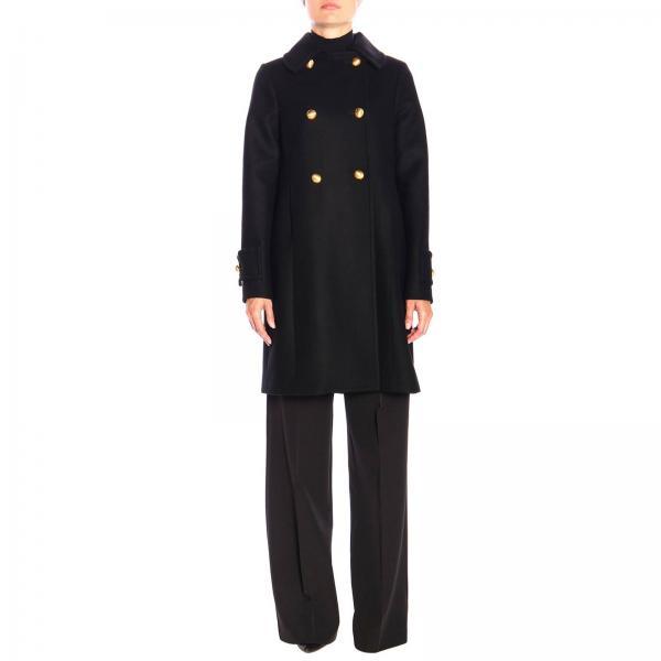 Cappotto Be Blumarine in panno di lana a doppiopetto