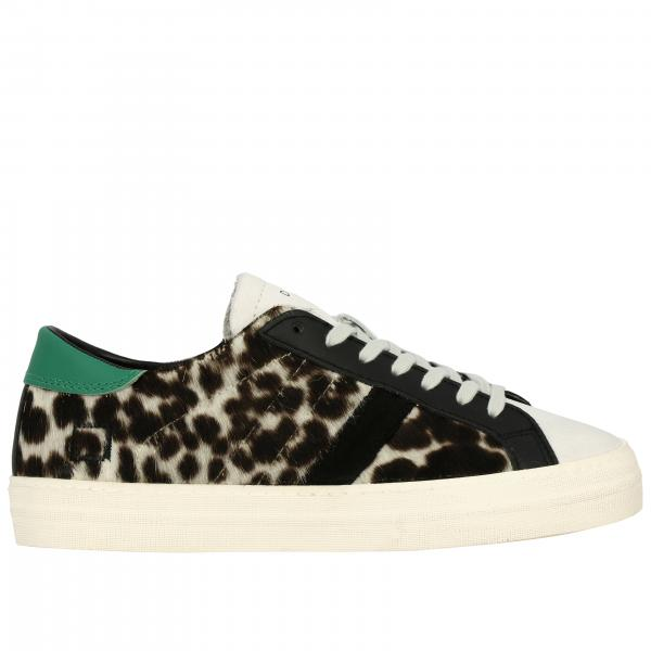 Sneakers pony stampa animalier
