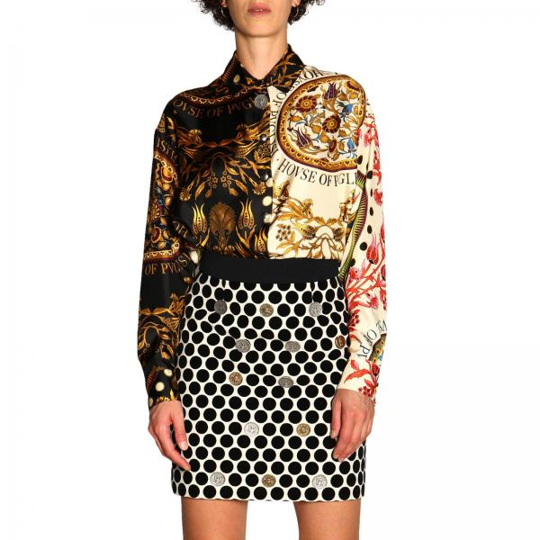 Camisa Fausto Puglisi FPD6250 P0506D