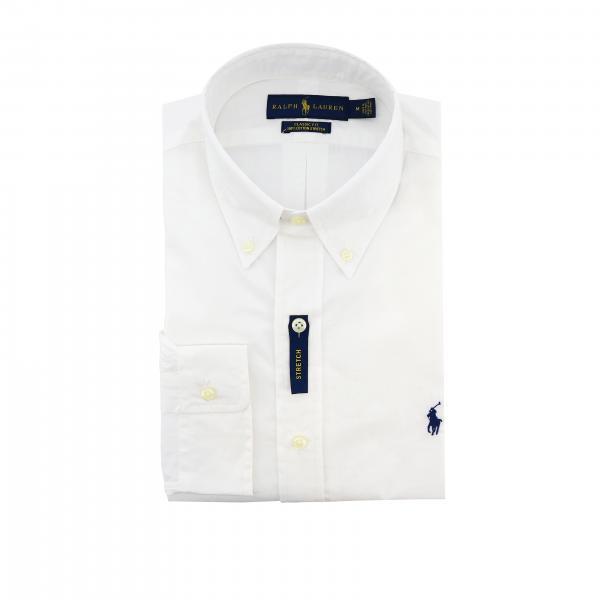 Stretch Camicia Polo Collo Fit LaurenNatural Logo 710705967 Button Ralph Uomo Down E Slim Con UzpMGqVLS