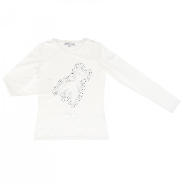 T-shirt Patrizia Pepe a maniche lunghe con logo
