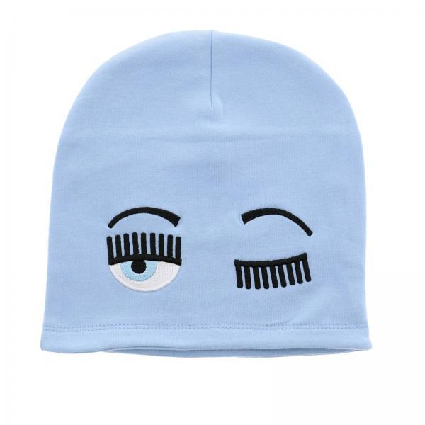 Chiara Ferragni hat with Eyes Flirting embroidery
