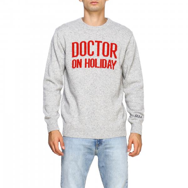 Girocollo misto cachemire jacquard doctor holiday