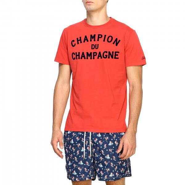 Du Corte Maniche Con Logo Barth 41 shirt Champion Uomo T Champagne RossoArnott A Saint Mc2 CEdeoQrBWx