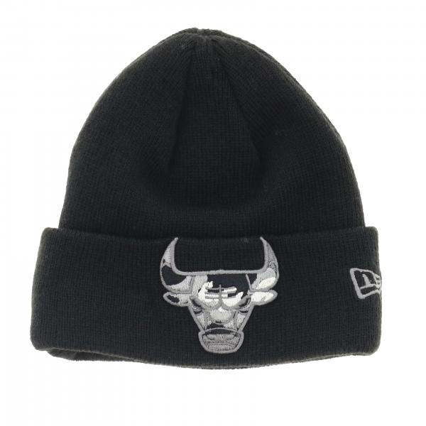 Cappello New Era Infant in lana con risvolto e logo bull camouflage