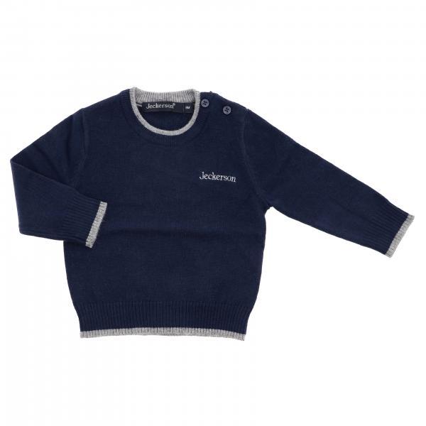 Maglia JN1454 Jeckerson di lana con bordi a contrasto