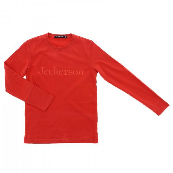 T-shirt J1240 Jeckerson a maniche lunghe con logo