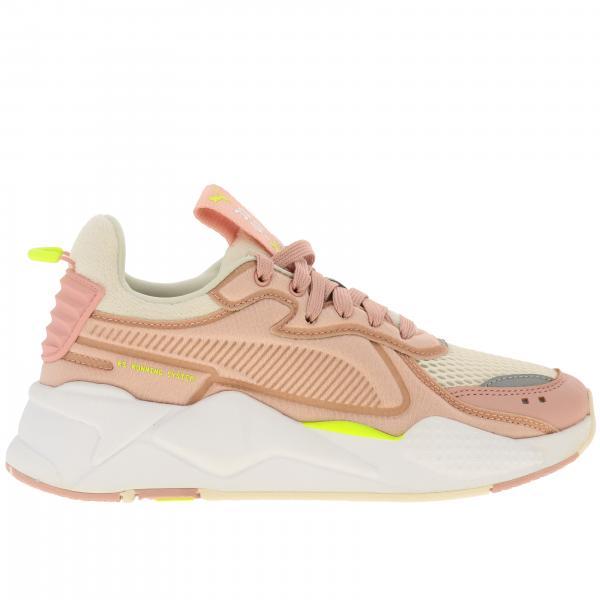 Donna Soft Bicolor Puma In Pelle Sneakers 369819 Case RosaRs E Rete X USzqVMp