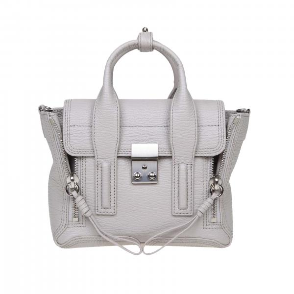 Borsa Mini Pashli 3.1 Phillip Lim full zip in vera pelle con tracolla amovibile
