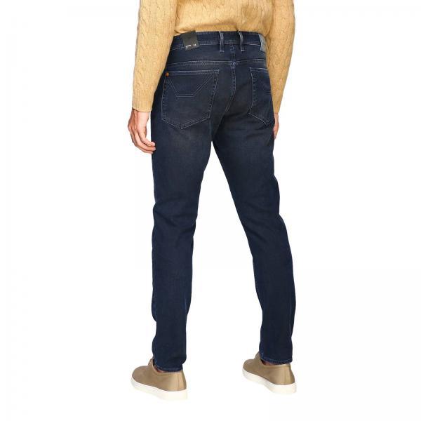 Jeans Used Toppe D040125 A Tasche In Alcantara Con 5 Jeckerson Uomo Maxi DenimPa014 1TFKlJc