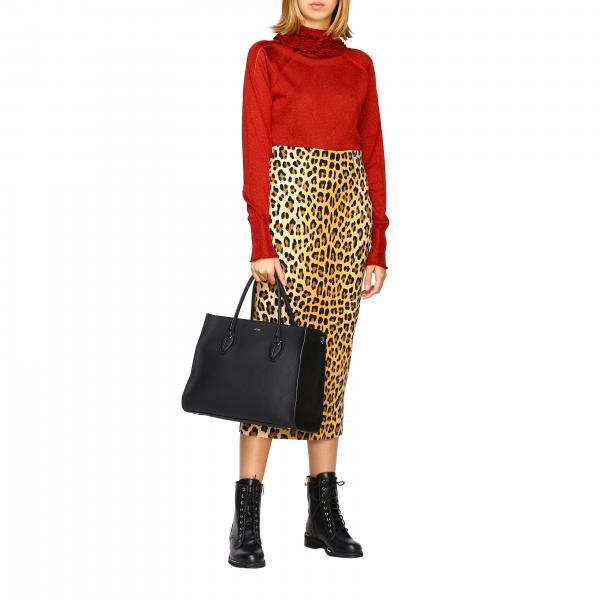 Martellata E Donna Borsa Mr5 Shopping Camoscio Pelle In Xbwanyo0300 A Mano Tod'sD EHY29WID