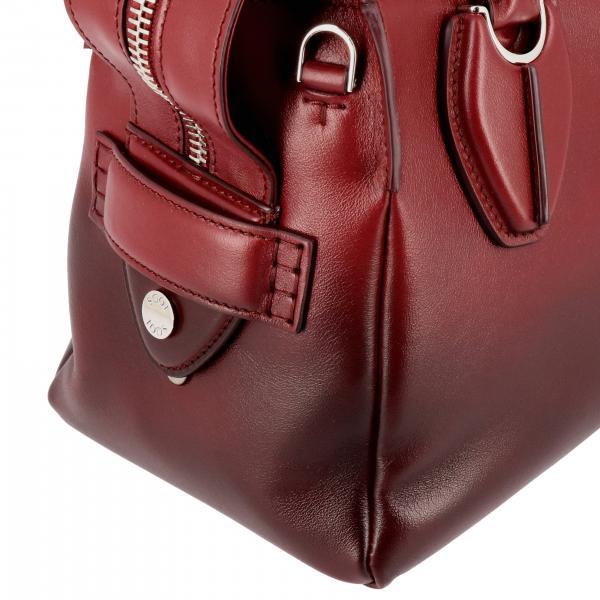 Tracolla A Pelle BordeauxBauletto Bag Donna D Xos Sfumata Con Xbwanyh0200 Borsa Mano Tod's Small In GMVpqSUz