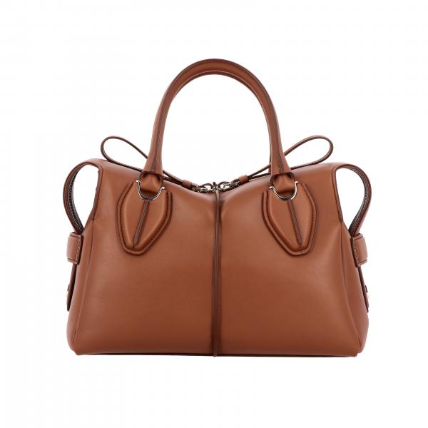 Bauletto D bag Tod's small in pelle con tracolla