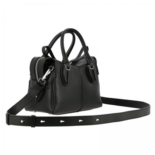 Tracolla In Xbwanyh0100 Small Xpa Tod's D Donna Con Pelle Borsa Mini Bag NeroBauletto QxWedCorB
