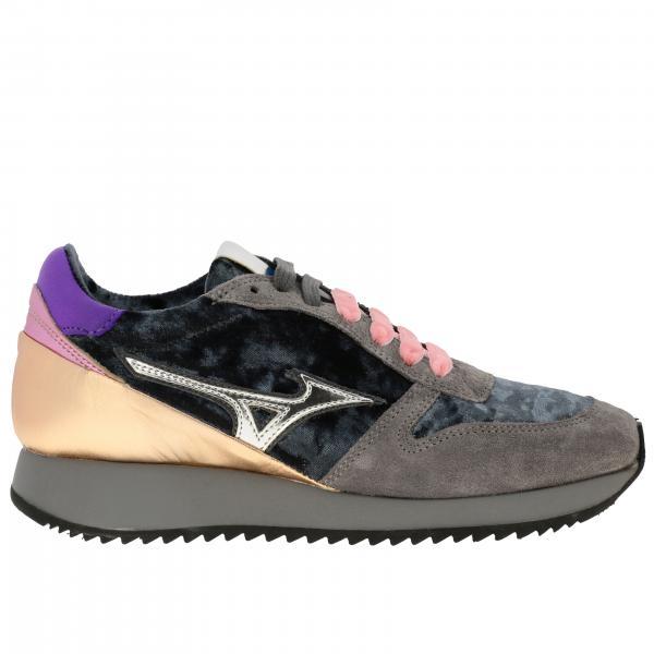 Mizuno Etamin 2 天鹅绒绒面革运动鞋