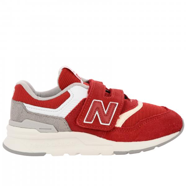 Baskets 997 New Balance en daim et filet avec velcro