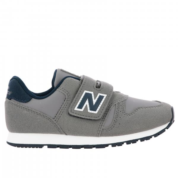 373 New Balance sneakers in suede and velcro fabric