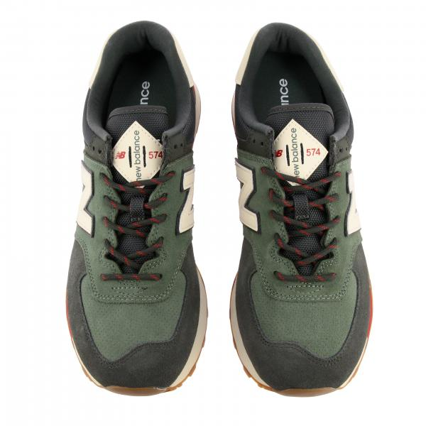 New Balance Outlet: 574 sneakers camoscio mesh | Sneakers New ...