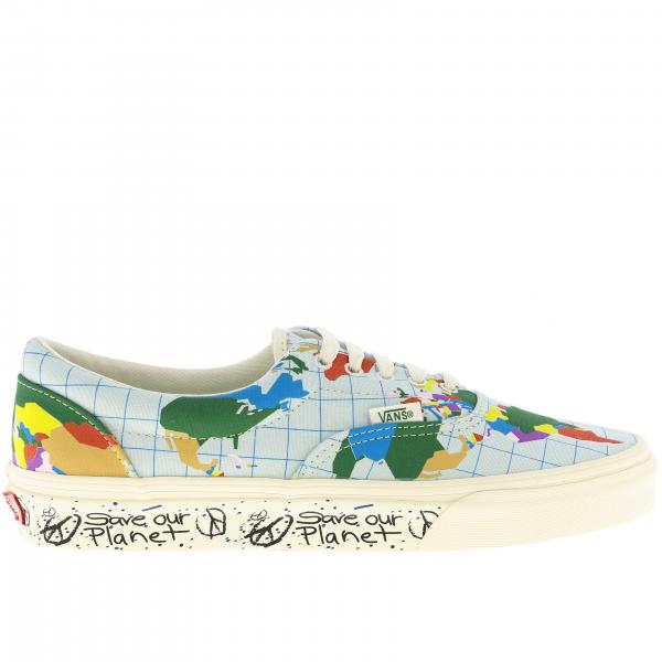 Era Save our Planet Vans Sneakers aus Baumwolle mit Weltkartendruck
