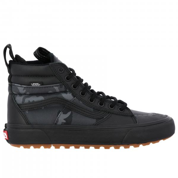 Sneakers Mte 360 sk8-hi Vans in pelle e tela stampa camouflage