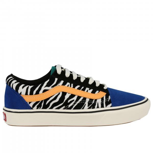Old skool comfy cusch camoscio zebra