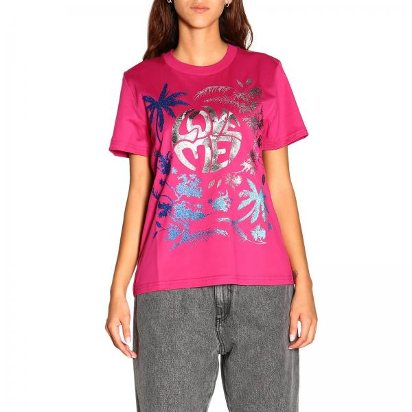 Alberta Ferretti T-Shirt mit save me Aufdruck