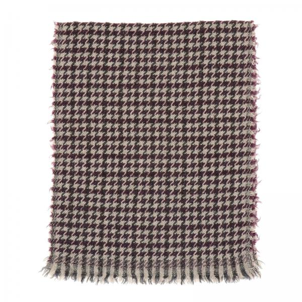Fay scarf with macro pied de poule