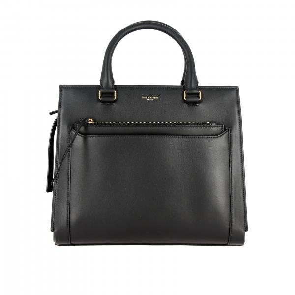 Saint Laurent East side 中号真皮手袋