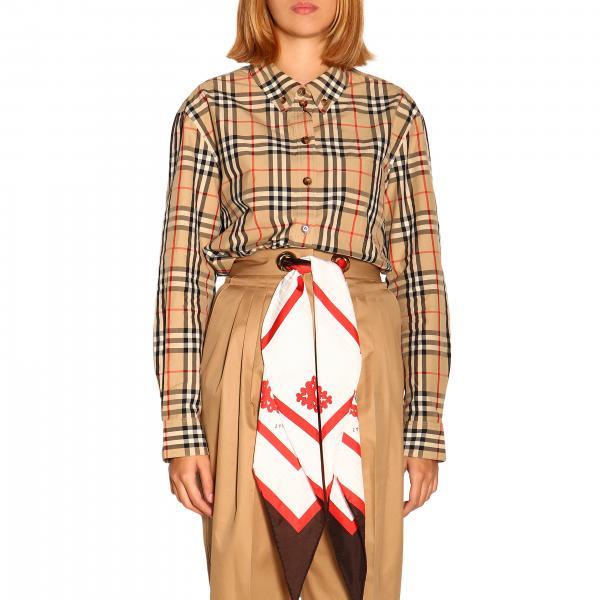 Camicia Guan in cotone check Burberry