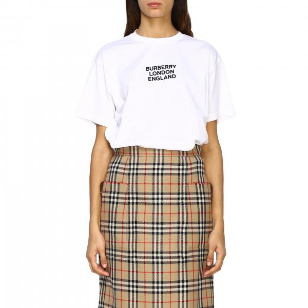 T-shirt Carrick a maniche corte con logo Burberry