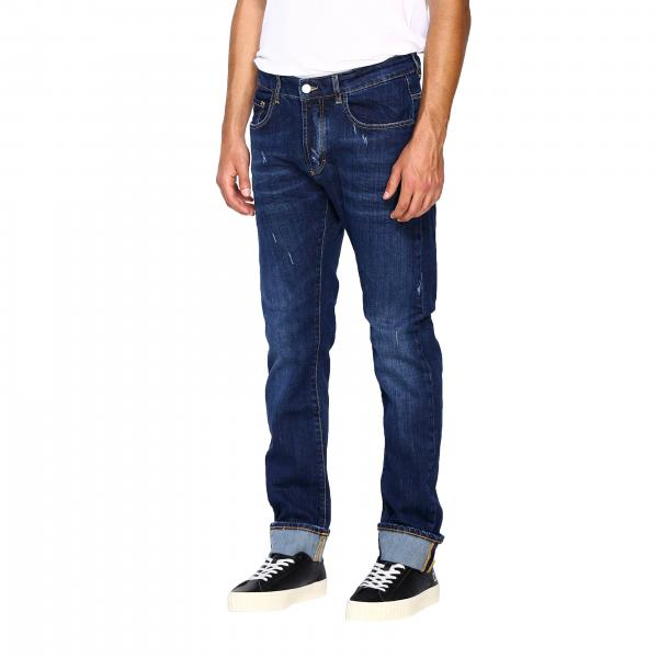 Morello Fmcf9211je Jeans Uomo Fit In Regular Used DenimStretch Frankie Yy67gbf